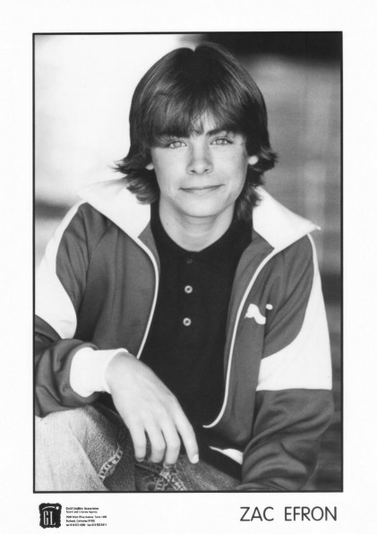 Zac Effron Actor Headshot